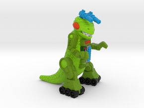 "Ampzilla Figurine (2"", 1.75"" and 1"") in Natural Full Color Sandstone: Medium"