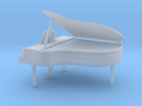 Printle Thing Grand Piano - 1/48 in Smooth Fine Detail Plastic
