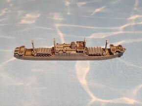 IJA Kibitsu Maru Landing Craft Depot Ship 1/2400 in Smoothest Fine Detail Plastic