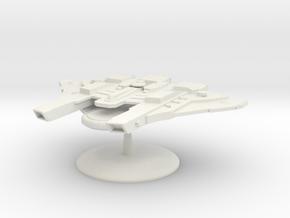 Kirla Warden Gunship in White Natural Versatile Plastic