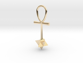 Quantum energy pendant in 14K Yellow Gold