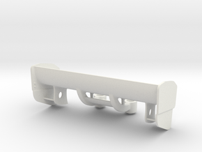 AILERON V2 Mazda-787-TRES GROS APPUIS in White Natural Versatile Plastic