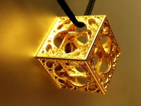 Mystic HyperMenger in Polished Gold Steel