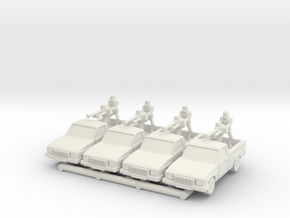 MG144-IR01 Hilux Technical (HMG) in White Natural Versatile Plastic