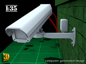 Surveillance Camera (1:35) Type 1 in Smooth Fine Detail Plastic