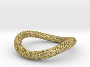 TORUS CORAL NEW 1-3 silver in Natural Brass