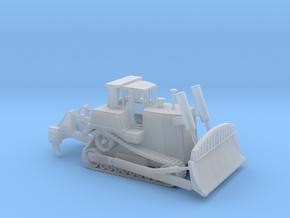 1/100 Scale Caterpillar D9 Bulldozer in Smooth Fine Detail Plastic