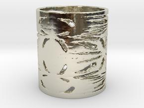 Native War Filigree Ring  in 14k White Gold: 6 / 51.5