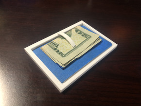 Minimalist Wallet in White Natural Versatile Plastic