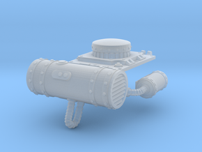 SciFi tank engine filters in Smoothest Fine Detail Plastic
