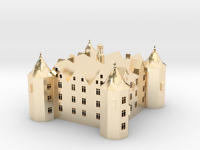 Schloss Glücksburg in 14K Yellow Gold
