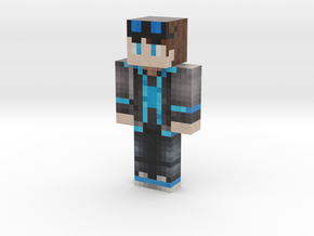 WalkingPixel | Minecraft toy in Natural Full Color Sandstone
