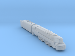 T1 Locomotive in Smoothest Fine Detail Plastic