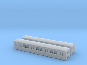 BR 877 Beiwagen N [2x body] in Smooth Fine Detail Plastic