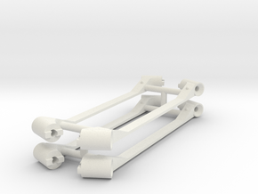 LAMES CHASSIS 3D M_Force in White Natural Versatile Plastic