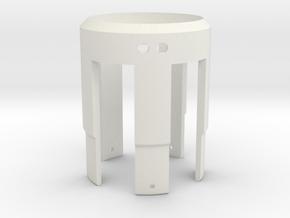Rudy's HERO V3 LED Holder in White Natural Versatile Plastic