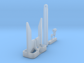 1/48 US Eells Salvage Anchor KIT in Smooth Fine Detail Plastic