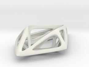 STRUCTURA Smooth, Pendant. in White Natural Versatile Plastic