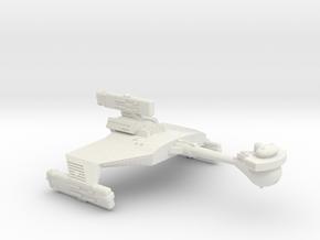 3788 Scale Klingon D5W New Heavy Cruiser WEM in White Natural Versatile Plastic