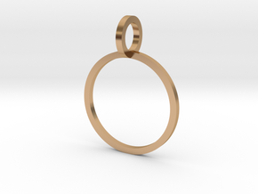 Charm Ring 14.05mm in Polished Bronze