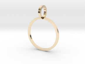 Charm Ring 14.05mm in 14K Yellow Gold