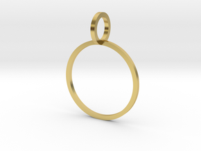 Charm Ring 16.51mm in Polished Brass