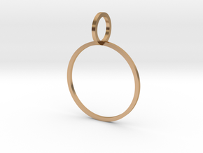 Charm Ring 19.41mm in Polished Bronze