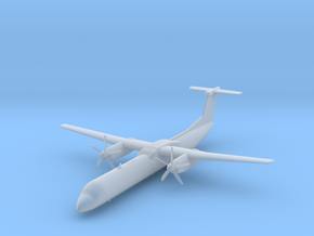 Bombardier Dash 8 Q400 in Smooth Fine Detail Plastic: 1:200