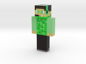 MICAHMDL | Minecraft toy in Natural Full Color Sandstone