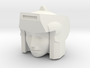 G1 Lancer for CW First Aid / Ironhide molds in White Natural Versatile Plastic