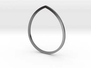 Drop 18.89mm in Polished Silver