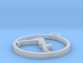 downwardfacingdog (2) in Smooth Fine Detail Plastic