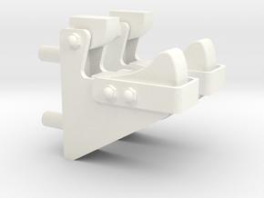 1.4 BAE HAWK BUTEES SOUTE AR in White Processed Versatile Plastic