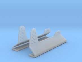 Race Seat Anchoring Kit - Type 1 - 1/12 in Smooth Fine Detail Plastic