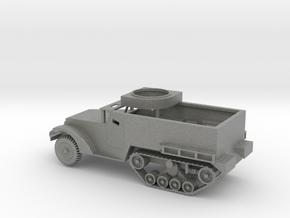 1/100 Scale M2 Halftrack w Tube in Gray PA12