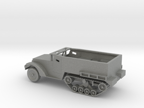 1/100 Scale M2 Halftrack in Gray PA12