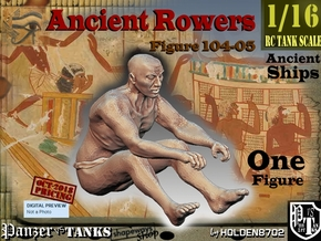 1/16 Ancient Rower fig104-05 in White Natural Versatile Plastic