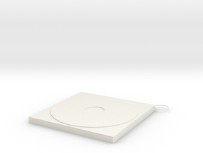 Forgotten CD in White Natural Versatile Plastic