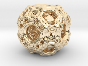 Qube.01 in 14K Yellow Gold