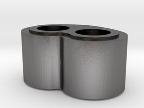 Hog Nose Bead in Polished Nickel Steel