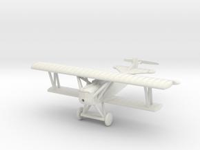1/87 (HO) Fokker D.VII in White Natural Versatile Plastic
