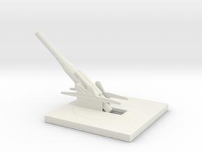 skoda 24cm Gun M16 1/160 in White Natural Versatile Plastic