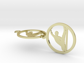 yoga (8) in 18k Gold Plated Brass