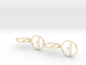0151yoga (3) in 14k Gold Plated Brass