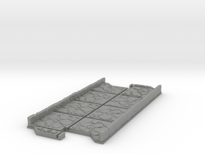 Long 2 way Dungeon Tile in Gray PA12