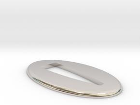 Seppa  1.75 mm in Rhodium Plated Brass