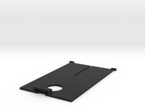 Tyco 9.6v Fast Traxx Battery Door in Black Natural Versatile Plastic