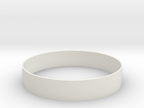 1:48 Adapter Ring Dave in White Natural Versatile Plastic