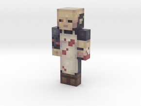 Project | Minecraft toy in Natural Full Color Sandstone