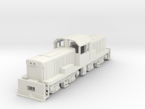 1:76 Scale KIWIRAIL DSC in White Natural Versatile Plastic